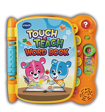 VTech Electronic Learning Products | Touch and Teach Word Book