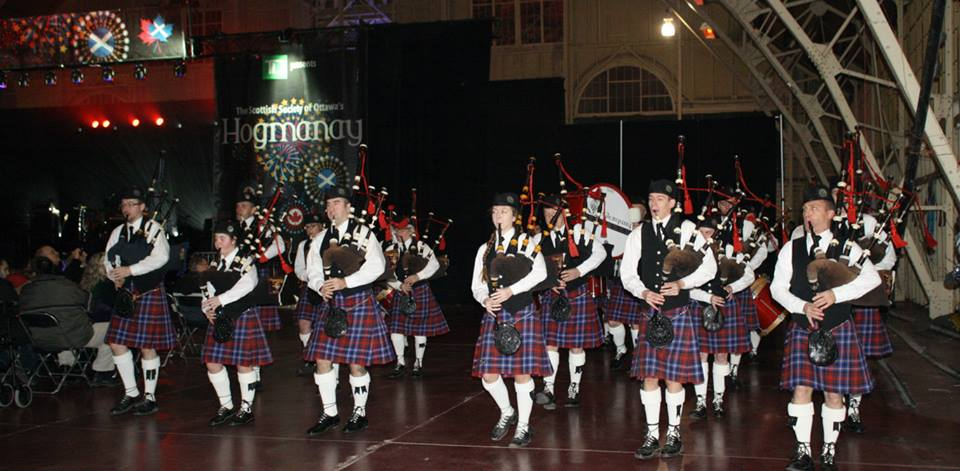 Family fun, Scottish music, bagpipes, skating, live entertainment and fireworks are all part of Hogamany.