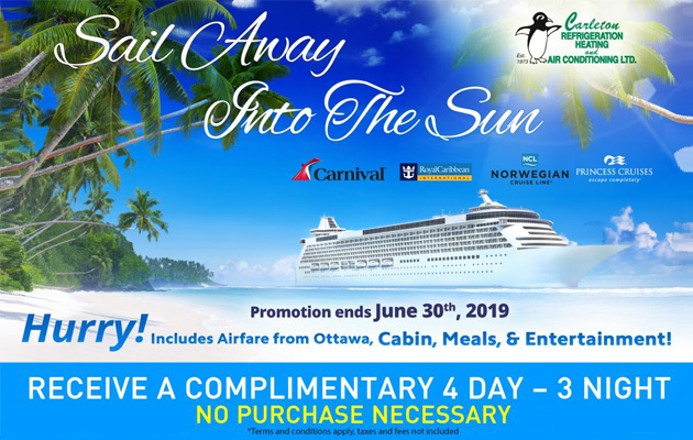 Carleton Refrigeration Heating and Air Conditioning LTD. Cruise Contest